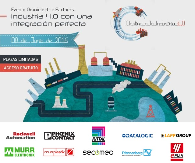 Evento Omnielectric Partners: Destino a la industria 4.0